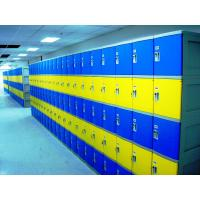 Buy cheap Colorful Employee Storage Lockers 4 Tier smart ABS Lockers for school or gym from wholesalers