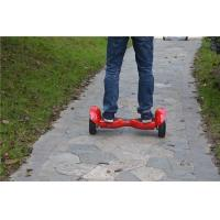 Quality Stand On 2 Wheel Electric Scooter , Smart Balance Wheel 10 Inch wholesale
