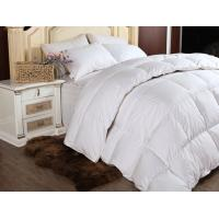 Buy cheap Customized Luxury Double Stitched Down Feather Quilt for Adults with White Goose Feather from Wholesalers