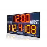 Quality Easy Installation Basketball Portable Scoreboard , Basketball Score Clock With Brackets wholesale