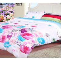 Buy cheap Home Textile Floral Bedding Sets Reactive Printed Cotton With Quilt Cover from Wholesalers
