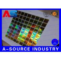 Buy cheap PET Custom Holographic Stickers /  Custom Decal Stickers With Scratch Off Code from wholesalers