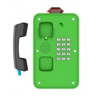 Buy cheap Green Industrial Weatherproof Telephone , Tunnel /  Marine Waterproof Intercom from Wholesalers