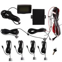 China Car Electronics Products 5w Digital Tube Colorful Lcd With 6 Sensors Parking Sensor on sale