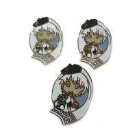 Buy cheap Hard Enamel Craft Collectible Lapel Pins Brush Finish Eco - Friend Material from wholesalers