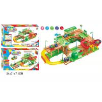 Buy cheap DIY Assembly Blocks Track Set Children ' s Play Toys Train Station Electric 29