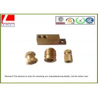 Quality Computer Numerical Control CNC Machining Metal Parts Brass shaft wholesale