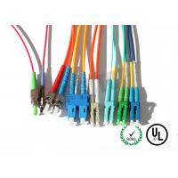 Buy cheap Yellow Jacket Fiber Optic Patch Cord 10m For Test Equipment / CATV from Wholesalers