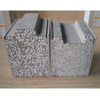 Buy cheap Fire Rated Fiber Cement Sandwich Panel , 100mm Cement Board Partition Wall from Wholesalers