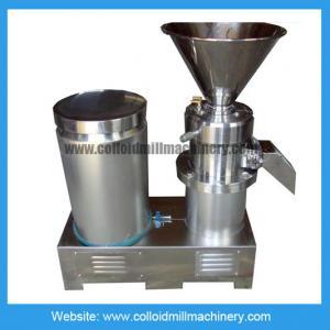 Peanut Butter Grinder Machine / 30-40kg/h 100-150kg/h 11kw Colloid Mill