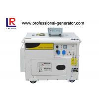 Buy cheap Portable Single phase 2 - 5kw Electric Power Generator Diesel Generator with 10HP Engine from Wholesalers
