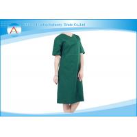 Short Sleeve Hospital Green Reusable Sterile Cotton Washable Surgical Gowns