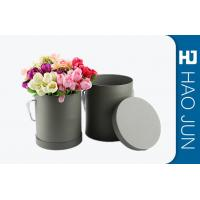 Buy cheap Fancy Round Cardboard Boxes With Lids / Flower Bouquet Boxes Color Customized from Wholesalers