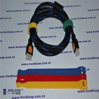 Buy cheap Logo Printable Hook And Loop Straps Wire  Straps Various Shape from Wholesalers