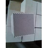 China Mullite Thin Fireplace Refractory Brick , Fire Resistant Bricks Stove Fire Rated on sale