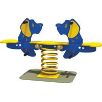 Buy cheap Double Seats Kids Outdoor Spring Rider For Toddler Playground Equipment from wholesalers
