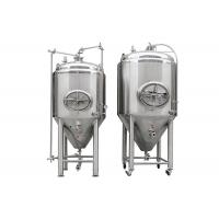 Buy cheap 10HL Polished Stainless Steel 304 Cylindro Conical Fermenter With Side Manway from wholesalers