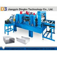 Buy cheap 2.0mm Thickness Cable Ladder Roll Forming Machine With 16 Steps Forming Station from Wholesalers