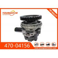 China Hydraulic Power Steering Pump Automobile Engine Parts for ISUZU 6HH1 6HK1 470-04156 47004156 on sale