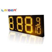 Buy cheap Waterproof RF Controller  LED Gas Station Price Sign for 12 inch ,Oil Screen Supplier from Wholesalers