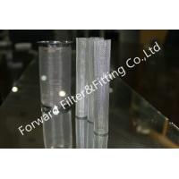 Quality 5 Inch  10 Inch Professional316l Food Grade Filter /  Perforated Metal Filter Tubes wholesale