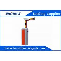 Buy cheap 2mm Steel Barrier Gate With Loop Vehicle Detector , Automatic Parking Barriers from wholesalers