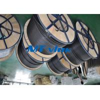 Buy cheap MTSCOSSCT55 TP316 / 316L 3 8 stainless steel coil tubing For Hater tubing line from Wholesalers