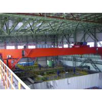 Buy cheap 3 ton, 5 ton Light Duty Double Girder Overhead Crane With Electric Hoist For Repair Workshop / Storage / Railway from Wholesalers