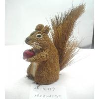 Buy cheap Artificial crafts handmade squirrel,grass easter ornament,easter decoration,easter gifts or use for garden ornament from Wholesalers