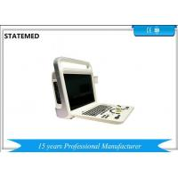 Buy cheap White Color Portable Color Doppler Ultrasound Scanner For Hospital Clinic from Wholesalers