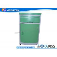Buy cheap Custom Size Blue ABS Hospital Furniture , Medical Bedside Table / Beside Locker from Wholesalers