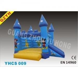 Disney 0.55mm PVC Childrens Inflatable Bouncy Castle Slides YHCS 009 1100W Blower