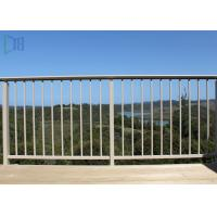Buy cheap Finished Surface Aluminium Balustrade Outdoor Stair Handrail Competitive Price from Wholesalers