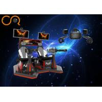Buy cheap Virtual Shooting Range Equipment 2 Players For Theme Park / Shopping Mall from Wholesalers