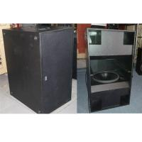 Buy cheap Powerful Double 18 inch Subwoofer Speakers 2400W RMS for Concert and Tour from Wholesalers