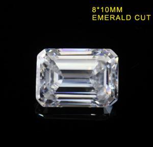 Quality 3.55CT Emerald Cut Fancy Cut Loose Moissanite DEF Color Super White VVS1 10x8MM wholesale