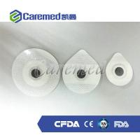 Quality CE Certificated Medical Electrodes ECG Stickers Foam Backing For Monitoring wholesale