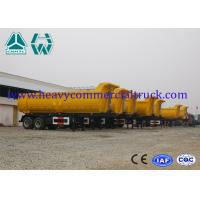 Quality 2 Axle Heavy Duty Dump Trailer Hyva Cylinder 30 Ton Custom Dump Trucks for sale