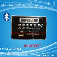 Buy cheap JK6890BT   SD card usb aux fm bluetooth mp3 player module for amplifier from wholesalers