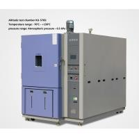 Buy cheap Programmable Altitude Test Chamber With Temperature And Humidity Chamber from wholesalers