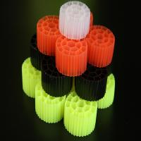China Colorul Plastic Moving Media Filter For Aquariums Virgin HDPE Material on sale