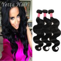 Buy cheap 100g Body Wave Indian Virgin Curly Hair With No Chemical No Mixture from Wholesalers