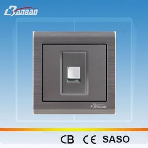 LK6025 PC flush type 1way TEL socket