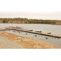 Buy cheap floating pontoon dock for marine construction from Wholesalers