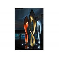 Buy cheap Painted Number Eight Stainless Steel Sculpture for Modern Outdoor Decoration from Wholesalers