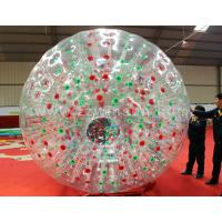 Buy cheap Commercial grade bubble football inflatable zorb ball from Wholesalers