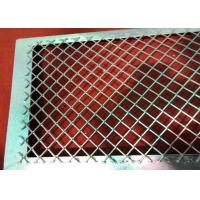 Buy cheap 3mm Thickness Carbon Steel /  Aluminum Walkway Metal Expanded Sheets from Wholesalers