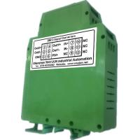 Buy cheap 4-20mA/0-10V current isolation splitter WAYJUN 3000VDC  one in two out signal converter green DIN35 CE approved from wholesalers