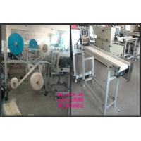 Buy cheap 3 Layers Body Surgical Mask Making Machine 5KW With Touch Screen Semi Automatic from Wholesalers