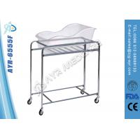 Buy cheap Stainless Steel Pediatric Hospital Bed Baby Cot With Acrylic Bassin from Wholesalers